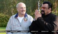 Стивен Сигал устроился в Wargaming и встретился с Александром Лукашенко Новости