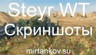 Steyr WT - Новые скриншоты Новости