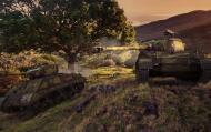 Красивые обои на танковую тему (43 шутки, Full HD) Разное