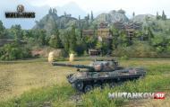 Leopard 1 карта жемчужная река world of tanks