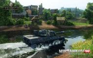 Leopard 1 карта жемчужная река мир танков