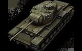 Обзор советского тяжелого танка 8 уровня КВ-4.