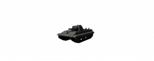 E 50 Ausf.M - Немецкая мощь орудия.