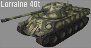 Обзор танка Lorraine 40t