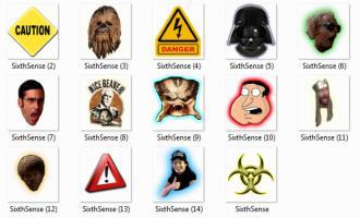 14 разных иконок для Шестого чувства Лампочки 6 чувства