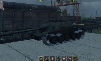Белые текстуры сбитых гусениц для World of Tanks Разные моды