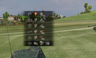 Показ работающих навыков и умений в бою для WoT Интерфейс