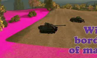 Яркие границы карт для World of Tanks Разные моды