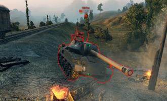 Цветные пробития для World of Tanks Разные моды