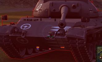 Шкурки Эстета с зонами пробития танков для World of Tanks Шкурки с зонами пробития