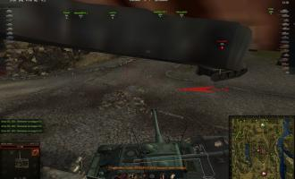 Скачать красный индикатор огня с таймером для World of Tanks Индикаторы урона
