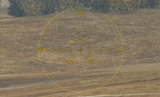 Желтый прицел от Andre_V для World of Tanks Прицелы