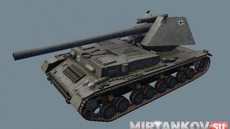 ТТХ новых немецких танков из обновления World of Tanks 0.8.9 Новости