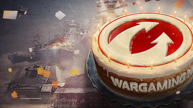 День рождения Wargaming - бонусы, подарки и халявный танк! Новости