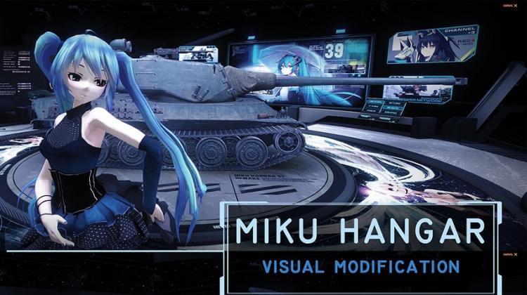Ангар Miku (v1 Remake) для World of Tanks Ангары