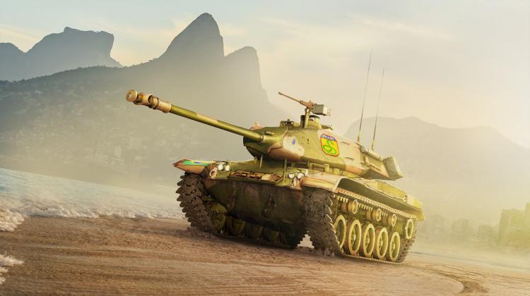 Новый танк - M41C Brazilian Bulldog Новости