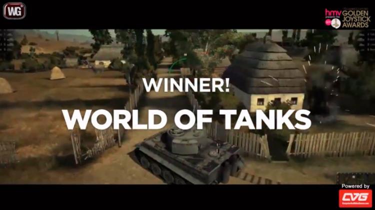 World of Tanks - лучшая MMO игра 2012 года! Новости