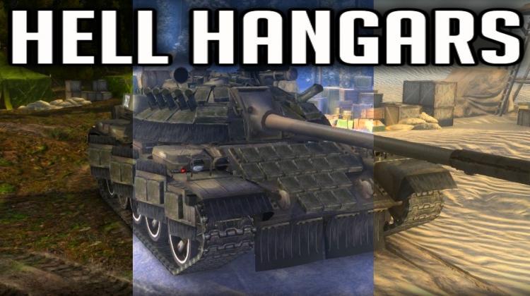 Ангары от Hellinger (Hell Hangars) для WOT Архив