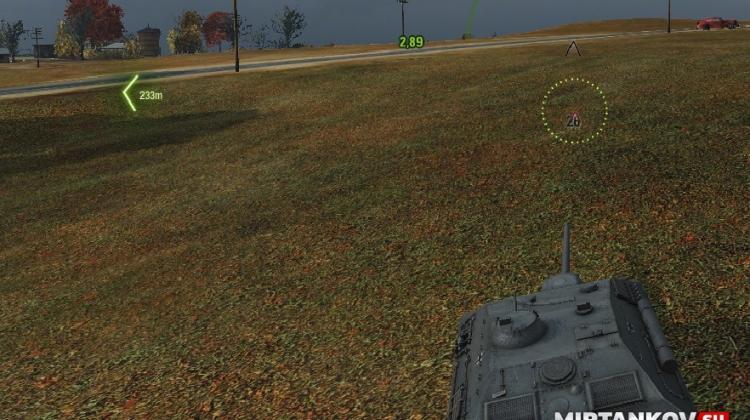 Мод Тылы - индикатор ближайшего к вам врага для World of Tanks Интерфейс