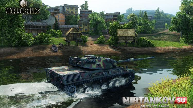 Leopard 1 - первый нагиб и мнение Видео