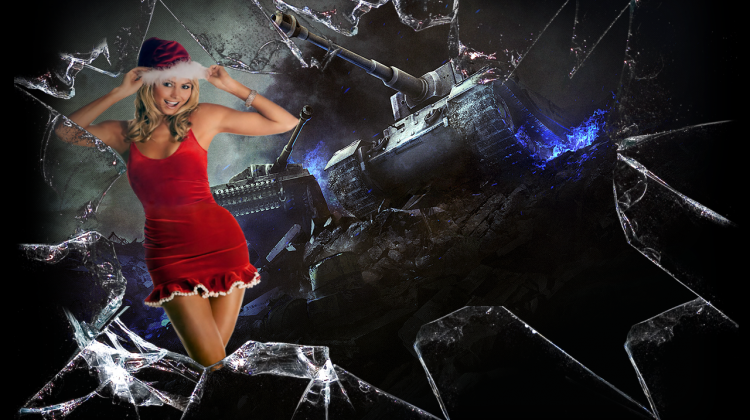 Заставки со Снегурочками для World of Tanks Заставки и загрузочные экраны