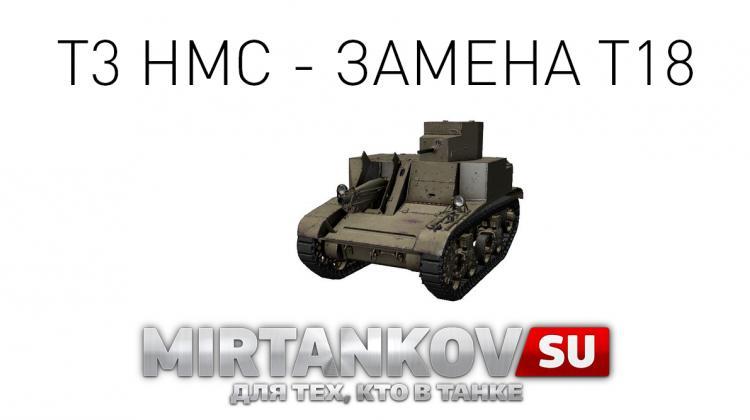 Новый танк - T3 HMC Новости
