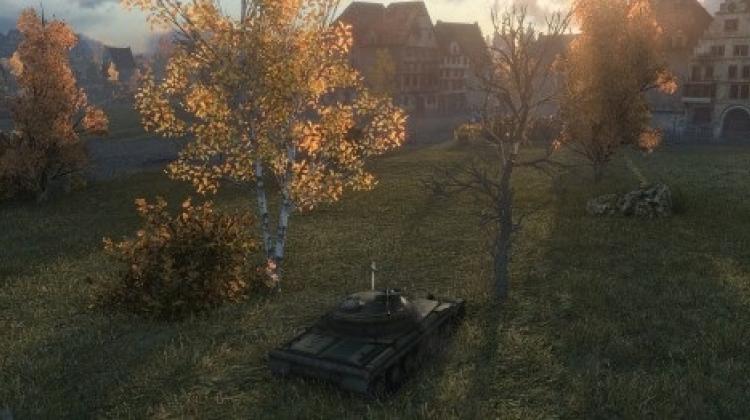 Скриншоты светофильтров в World of Tanks 0.8.10 Новости