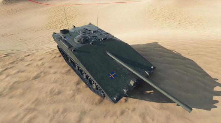 Новый танк STRV S-1 Новости
