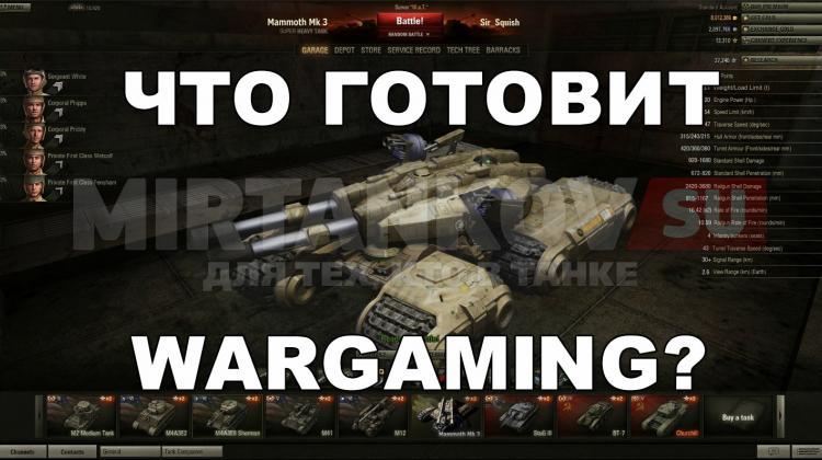 Что готовит Wargaming? Новости