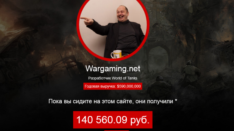 Сколько зарабатывает Wargaming в реальном времени Новости