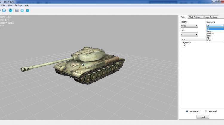 WOT Tank Viewer (версия 1.0.17) Программы