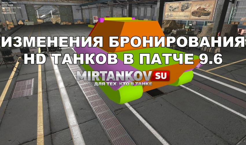Изменения в танках при переводе в HD Новости