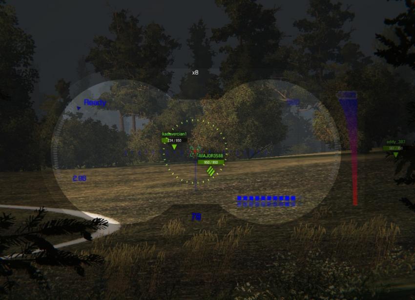 Прицел Бинокль для World of Tanks Прицелы