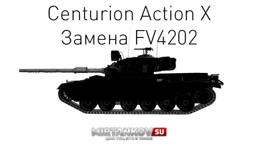 Новые характеристики Centurion Action X Новости