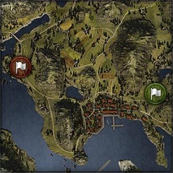 мир танков тактика, мир танков карты, фьорды тактика, карта фьорды