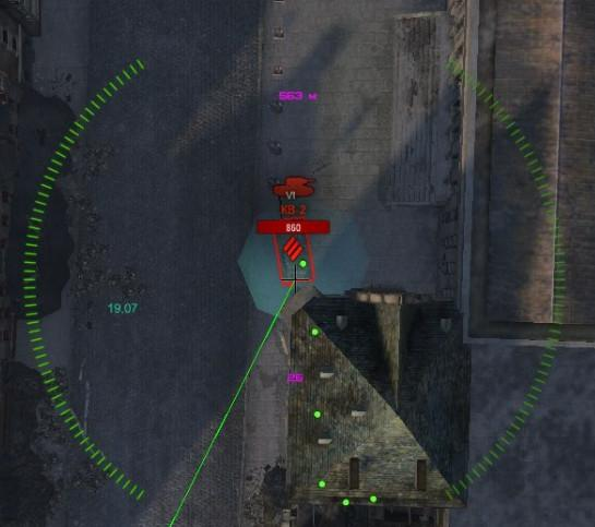 Показ сплэша артиллерии для WoT Разные моды