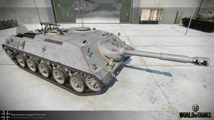 Рендер Kanonenjagdpanzer Новости