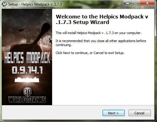 Сборка запрещенных модов Helpics Modpack для World of Tanks Архив