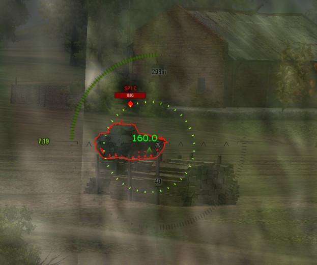 Индикатор запаса бронепробития для WoT Интерфейс