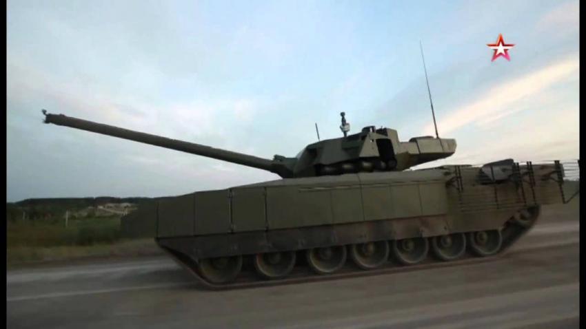 Полный обзор танка «Армата» Новости