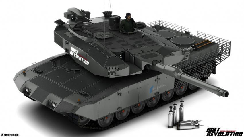 Танк MBT Revolution лучше Арматы? Новости