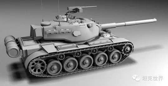 M41 Walker Bulldog со 105 мм орудием - Китайский легкий танк X уровня? Новости