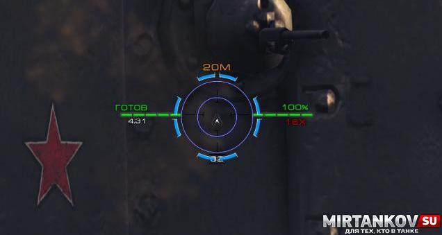Прицел Bushmaster для WoT Прицелы