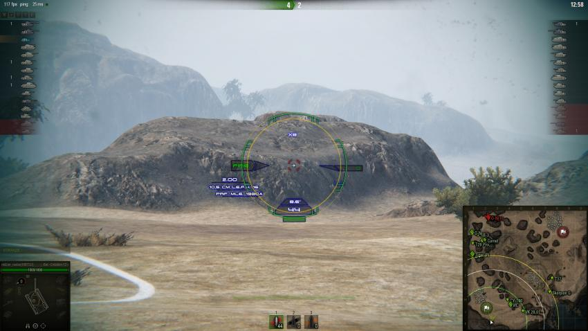Прицел Терминатор для World of Tanks Прицелы