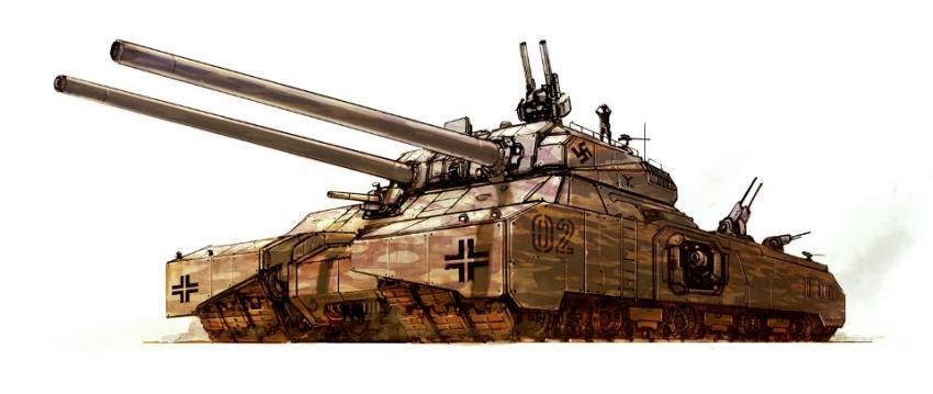 танк Ratte P1000