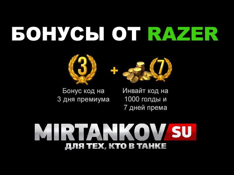 Бонус коды от RAZER Новости