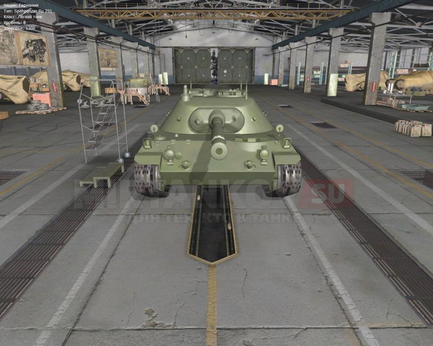 Слив с супертеста - танк RU 251 Новости