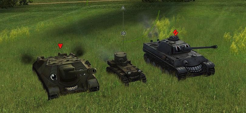 смешные шкурки танков