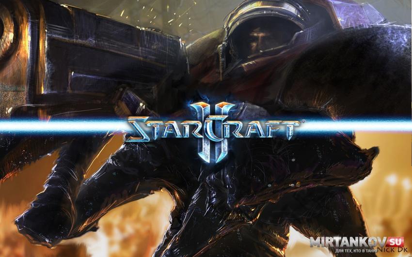 Озвучка экипажа из игры StarCraft II для World of Tanks Озвучка
