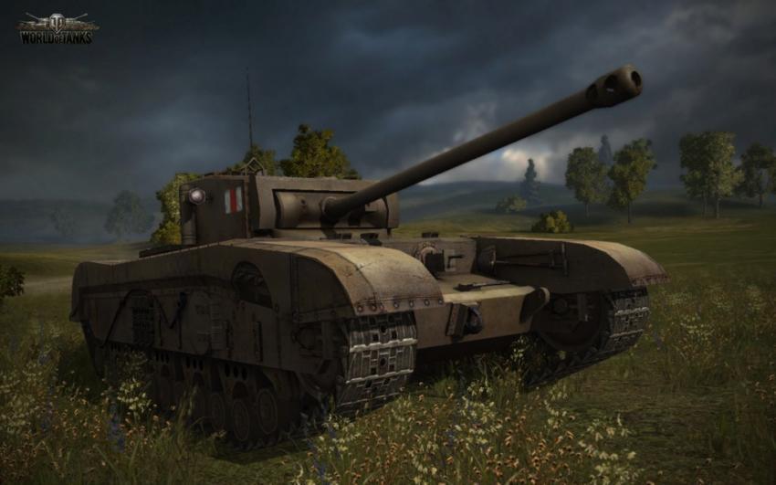 тяжелый танк Великобритании